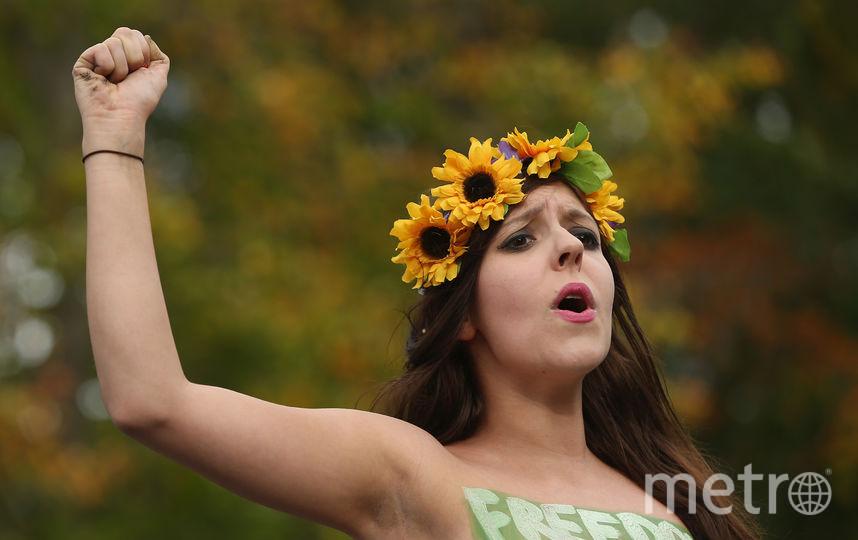 Femen. Фото Getty