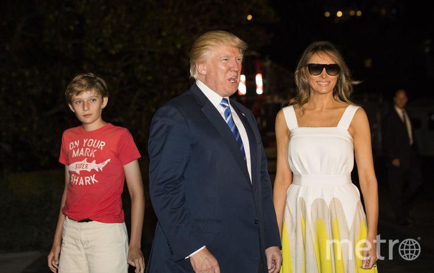 Мелания Трамп поблагодарила Челси Клинтон за защиту ее сына. Фото Getty