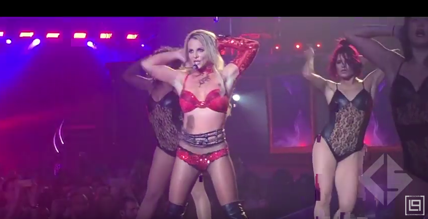 Бритни Спирс, 2013-2016 годы. Фото Скриншот Youtube