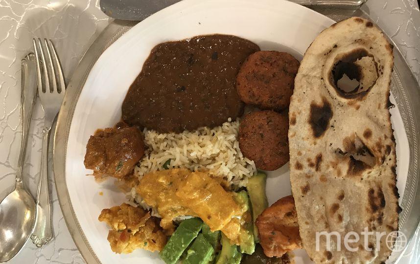 Индийские блюда. Фото Анна Сирота