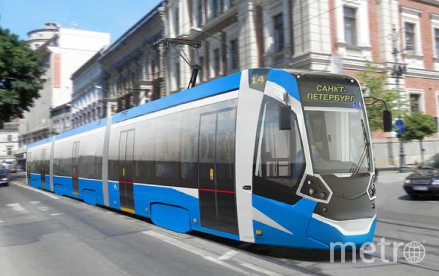 Частный трамвай носит название «Чижик». Каждый состав будет трёхвагонным  | OOO «ТКК».