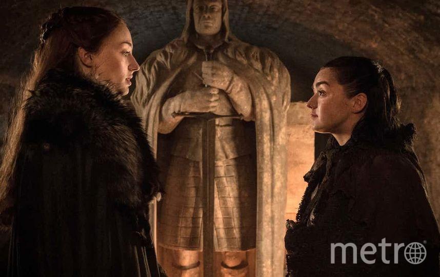 Санса и Арья. Фото HBO.