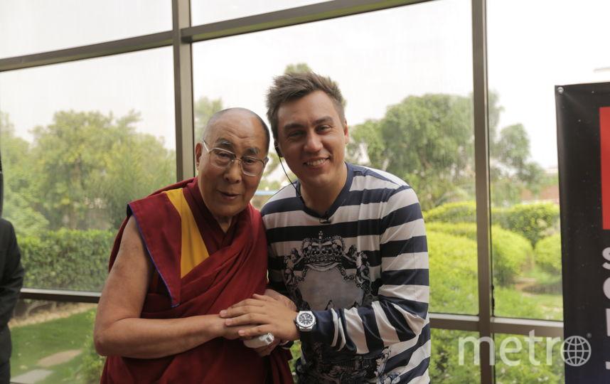 Его Святейшество Далай-лама и блогер Дмитрий Портнягин провели вместе 2,5 часа | все фото предоставлены Дмитрием Портнягиным.