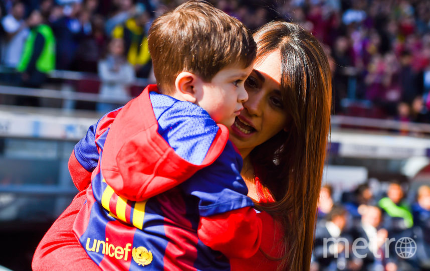 Антонелла Роккуццо с ребёнком. Фото Getty