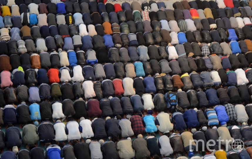 Мусульмане празднуют Курбан-байрам (архивное фото). Фото РИА Новости