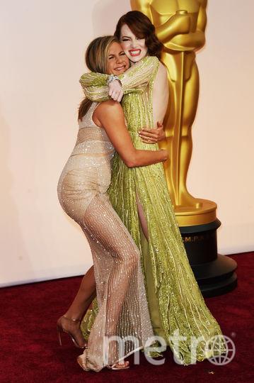 Дженнифер Энистон рассказала прессе о своей беременности. Фото Getty