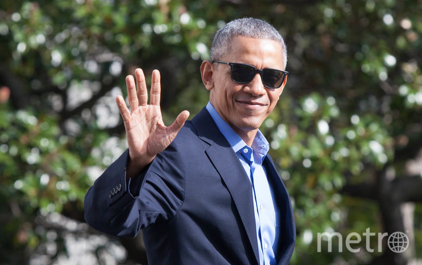 Дональд Трамп поделился иллюстрацией  о«затмении» Барака Обамы