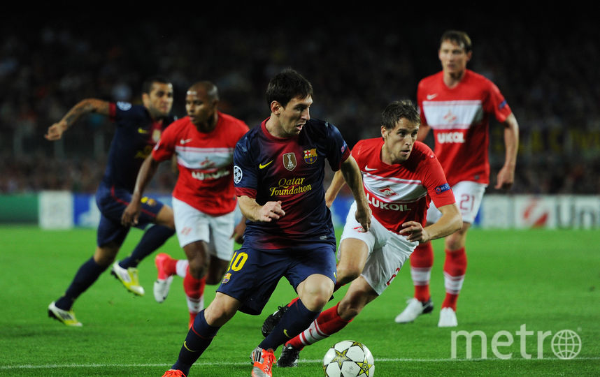 Если ЦСКА в последние годы играет в Лиге чемпионов регулярно, то «Спартак» последний раз выступал на групповом этапе в сезоне 2012/13, когда в соперниках «красно-белых» среди прочих была «Барселона» (2:3, 0:3). Фото Getty