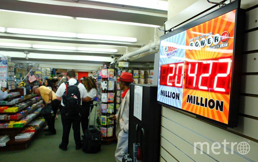 Лотерея Powerball. Фото Getty