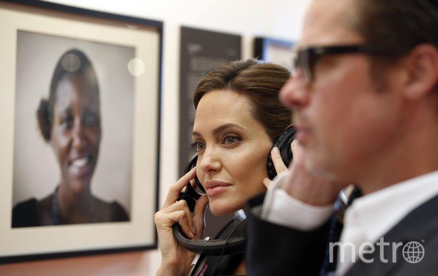 Еще одна дочь Джоли рискует стать мальчиком. Фото Getty