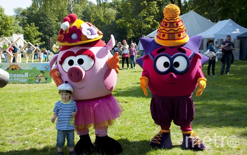 """На главной сцене Metro Family Day по традиции богатая программа для детей. Фото """"Metro"""""""