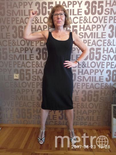 Елена Колядина после многомесячных упражнений. Фото Елена Колядина