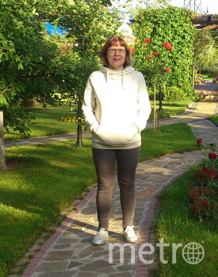 Елена Колядина ДО занятий спортом. Фото Елена Колядина