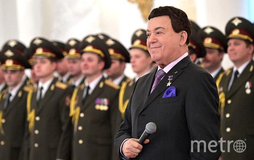 Певец Иосиф Кобзон. Фото Wikipedia/kremlin.ru