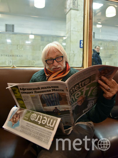 "Пьер Ришар. Фото Василий Кузьмичёнок, ""Metro"""