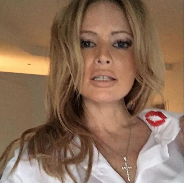 Дана Борисова повстречалась сдочерью после нескольких месяцев разлуки