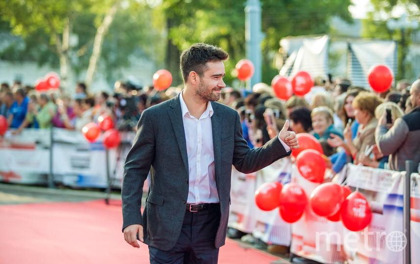 Актер Петр Федоров, член жюри СМКФ. Фото предоставлены организаторами фестиваля