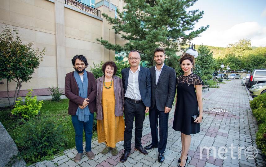 Члены жюри СМКФ. Фото предоставлены организаторами фестиваля