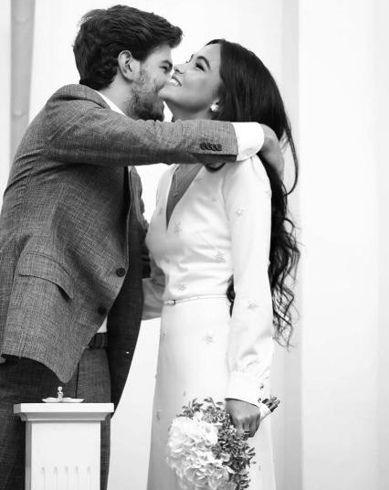 Молодожёны. Фото Instagram невесты.