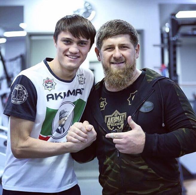 Рамзан Кадыров. Фото Instagram @kadyrov_95