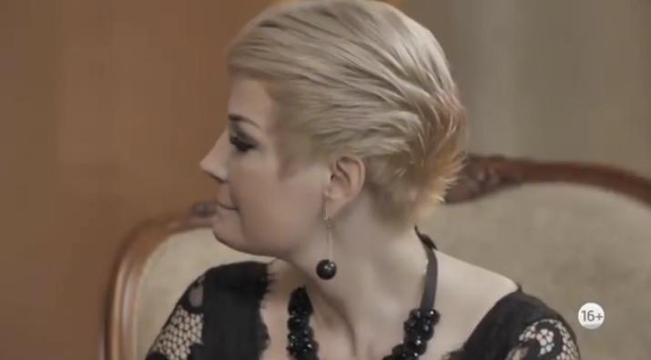 Мария Максакова расплакалась во время интервью с Малаховым. Фото Скриншот/Instagram: malakhov007