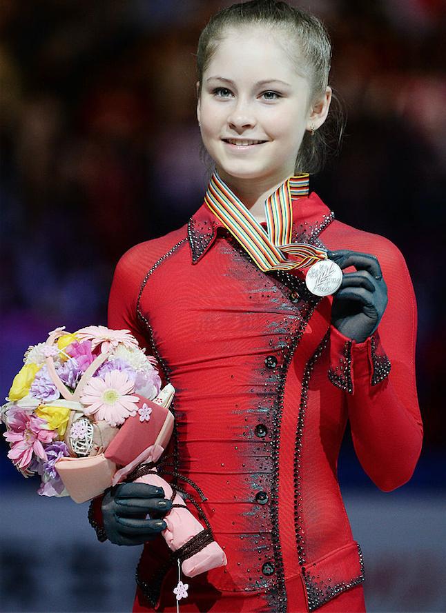 Юлия Липницкая. Фото Getty