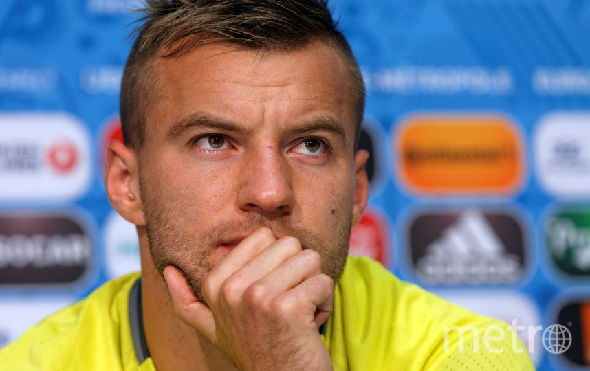 Нападающий сборной Украины Андрей Ярмоленко. Фото Getty
