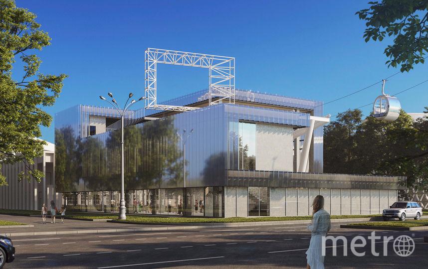 Фасад станции сделан из стекла, а кабинки спроектированы по индивидуальному проекту специально для Москвы. Фото mos.ru.