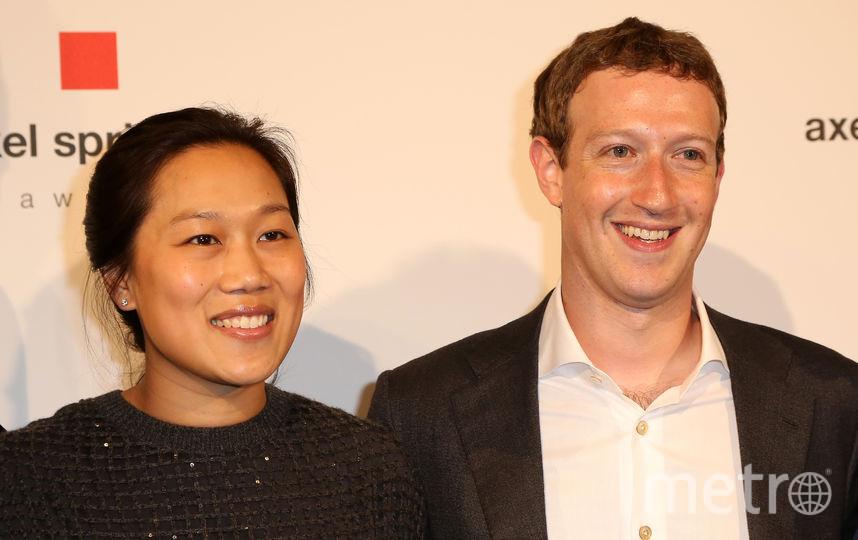 Марк Цукерберг и его супруга Присцилла Чан. Фото Getty