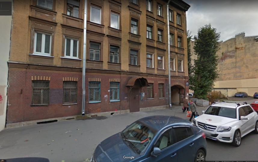 В Петербурге в пожаре погибли двое детей. Фото Скриншот Google maps