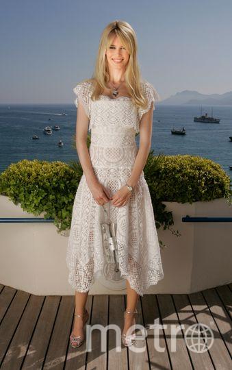Клаудиа Шиффер оголила пресс во время отдыха на яхте. Фото Getty