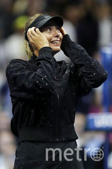 После победы Мария не могла сдержать слёз счастья. Фото Getty