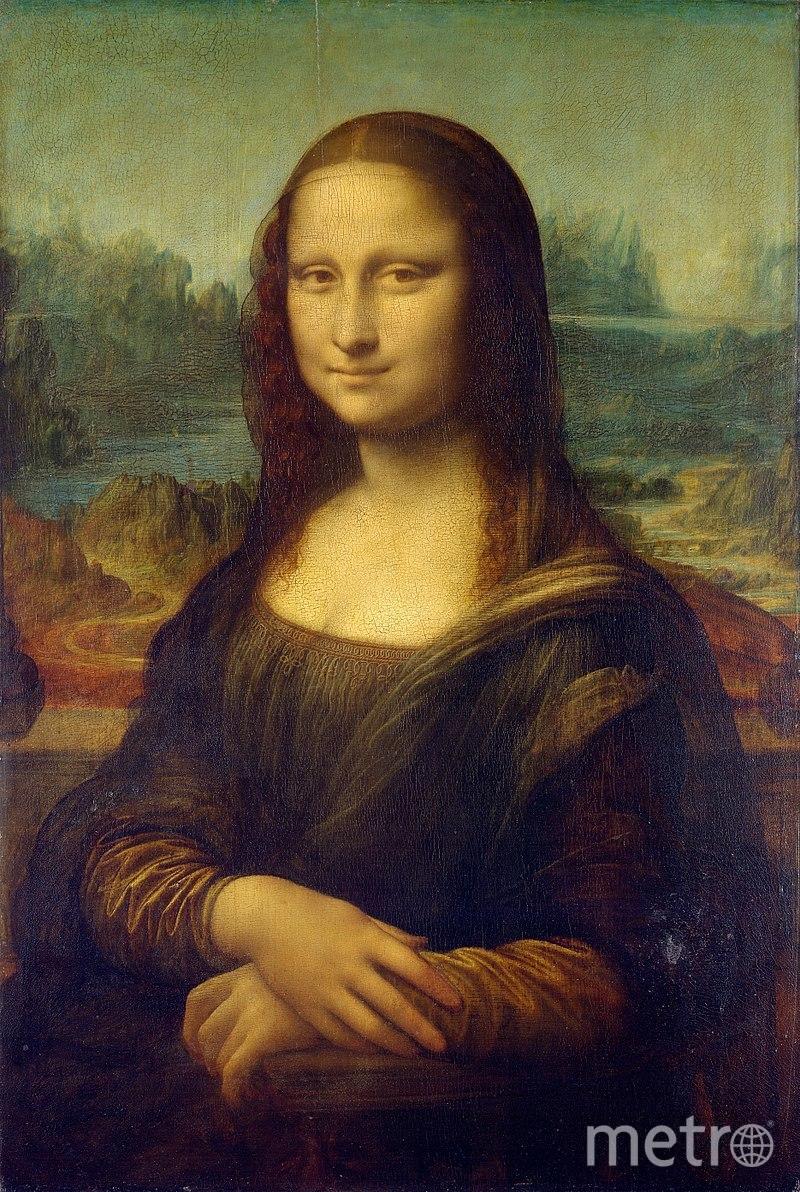 "Картина Леонардо да Винчи ""Мона Лиза"". Фото Wikipedia"