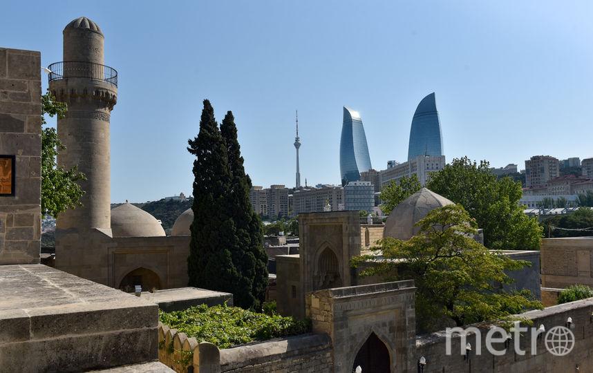 Старый город Баку. Фото Василий Кузьмичёнок