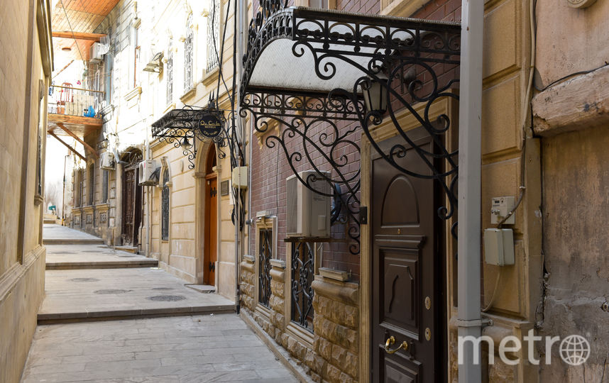 Улицы старого Баку. Фото Василий Кузьмичёнок