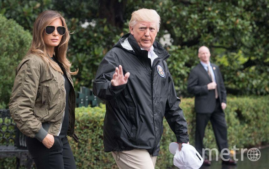 Дональд и Мелания Трамп. Фото AFP