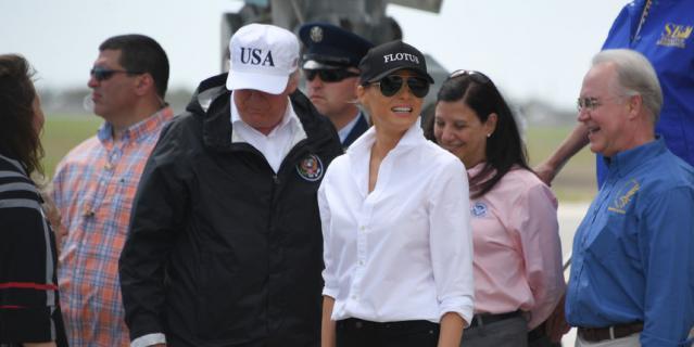 Дональд и Мелания Трамп.