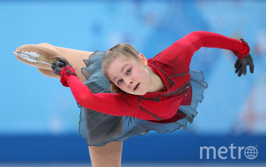 19-летняя Юлия Липницкая. Фото Getty