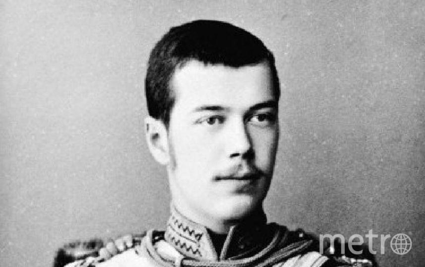 Будущий император Николай Александрович.