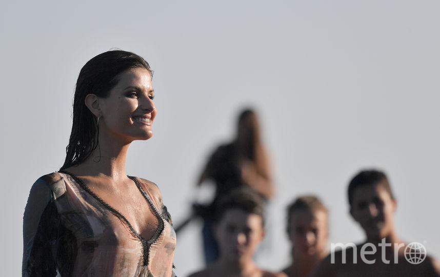 Одной из первых гостей фестиваля стала бразильская супермодель Изабели Фонтана. Фото AFP