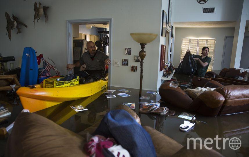 Фото последствий урагана Харви в Техасе. Фото Getty