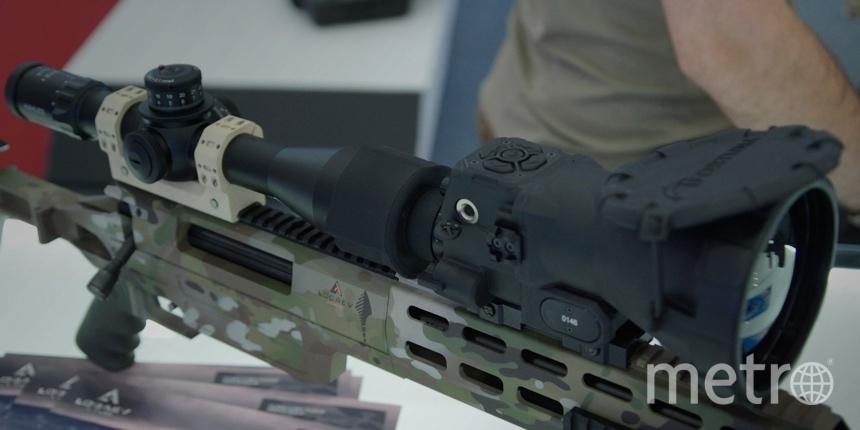 Были представлены снайперские винтовки LOBAEV ARMS.