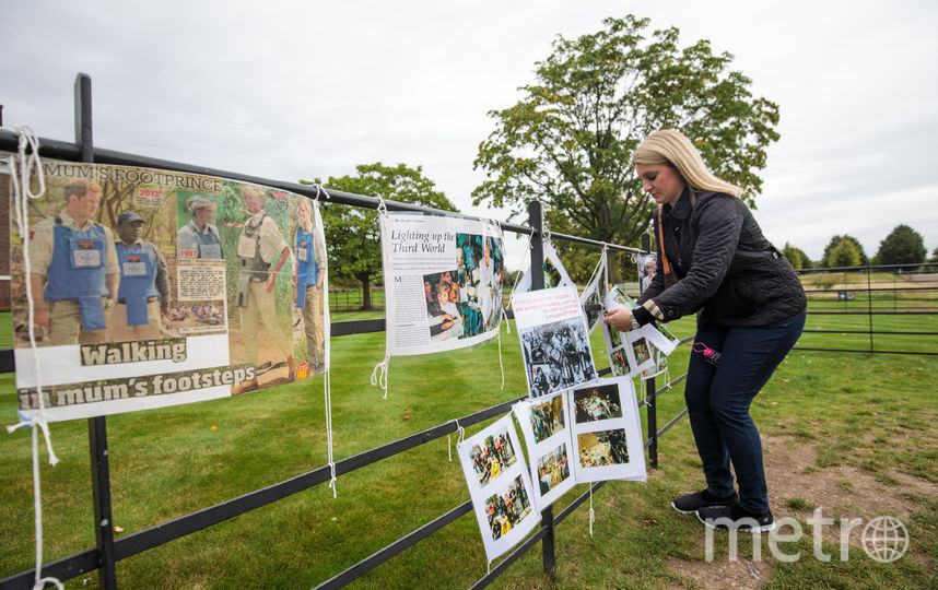 Мемориал, посвященный леди Ди в Кенсингтонском дворце. Фото Getty