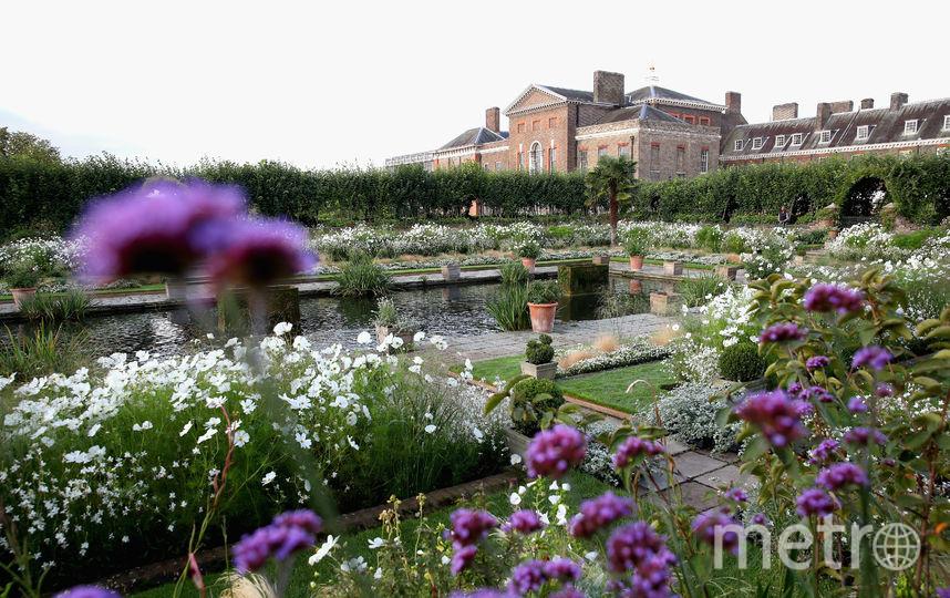 Сад леди Ди в Кенсингтонском дворце. Фото Getty