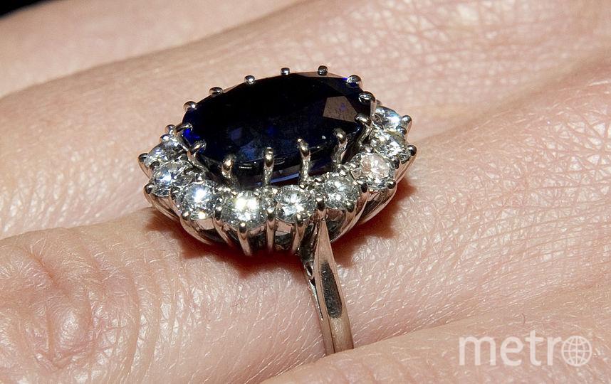 Легендарное кольцо с синим сапфиром, которое носила принцесса, Уильям преподнес своей супруге Кейт Миддлтон. Фото Getty