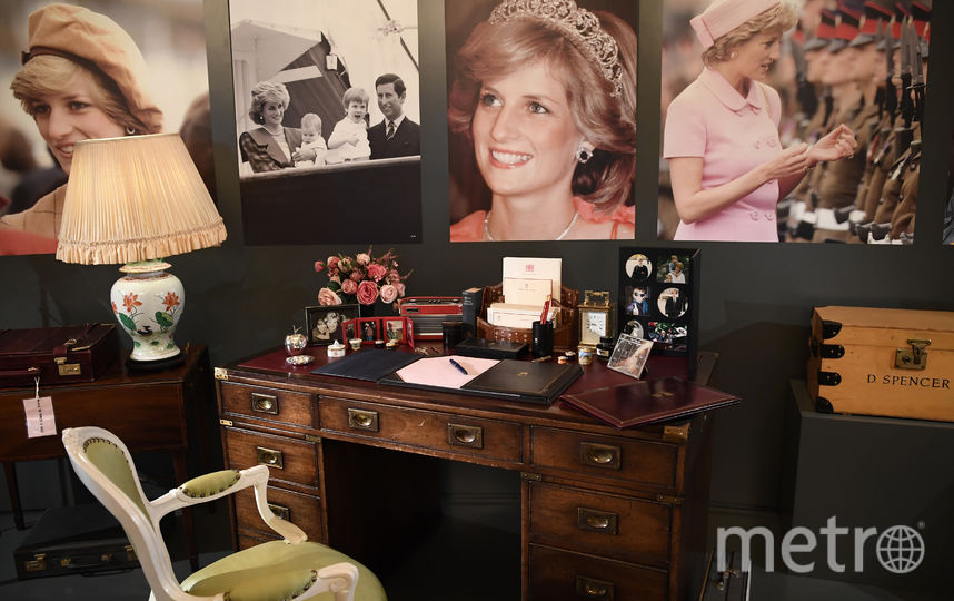 Выставка, посвященная принцессе Диане в Букингемском дворце. Фото Getty
