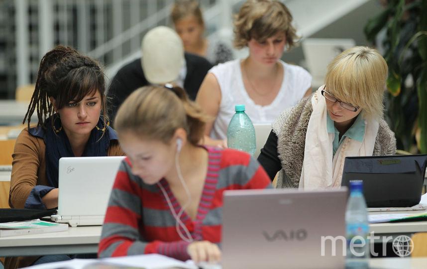 Студенты. Фото Getty