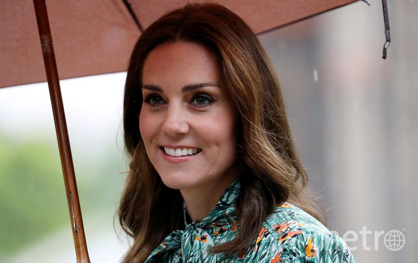 Кейт Миддлтон, принцы Гарри и Уильям посетили созданный в честь леди Ди сад. Фото Getty