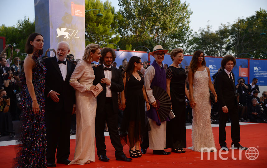 Международный Венецианский кинофестиваль. Фото AFP