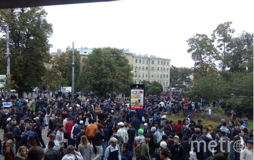 "Курбан-байрам - праздник жертвоприношения. Фото ""Metro"""